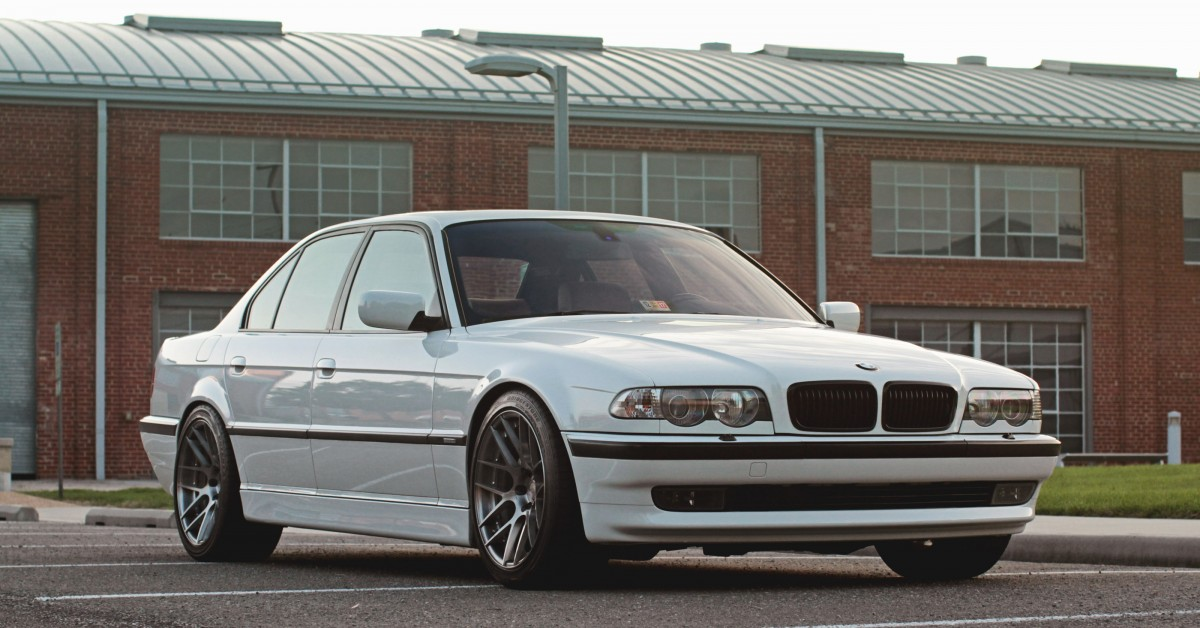 This Engine Swapped Six Speed Sedan Is The M7 That BMW Never Built O Petrolicious