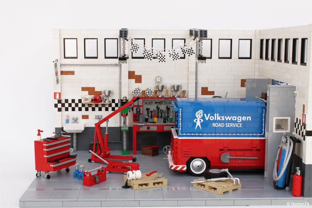 One LEGO Engineer And Two Custom VW Buses • Petrolicious