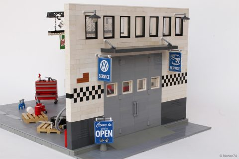 One Lego Engineer And Two Custom Vw Buses Petrolicious