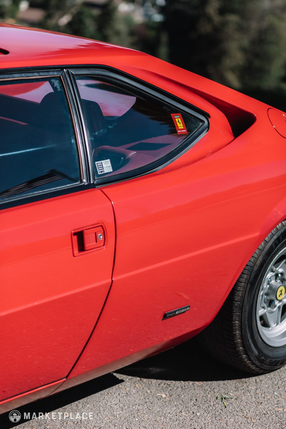 1978 Ferrari 308 Gt4 Petrolicious Wiring Diagram Wheels The Appear Original And Are In Good Condition With Mild Curb Marks On Each To Note