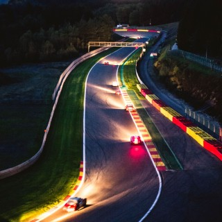 Vintage Race Cars Duel In The Dark At The Spa Six Hours