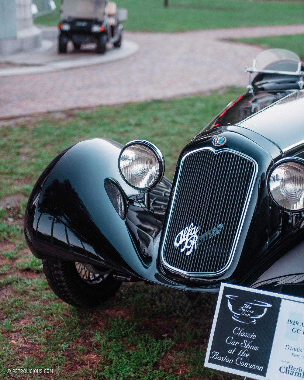 The Boston Cup Puts A Car Show In Americas Oldest Public Park - New england car show boston