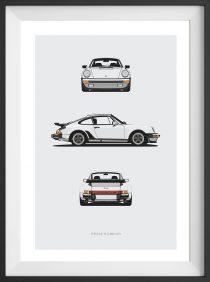911 Turbo Trilogy Print