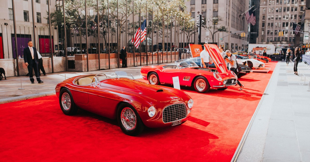 This Is What Happens When Ferrari Throws A Birthday Party In New York City Petrolicious