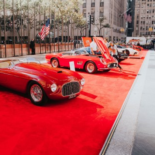 This Is What Happens When Ferrari Throws A Birthday Party In New York City