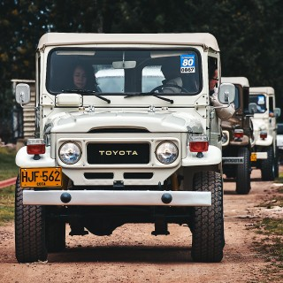 All The Vintage Land Cruiser Goodness From The World's Largest Toyota Parade