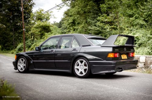 The mercedes benz 190e 2 5 16 evolution ii delivers the for Mercedes benz 190e 2 5 16 evolution ii for sale