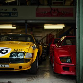 GALLERY: Inside Ten Tenths Racing's Legendary Garage