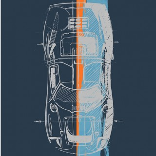 The Designer Of The Lotus Elise Just Dropped New Artwork In The Shop