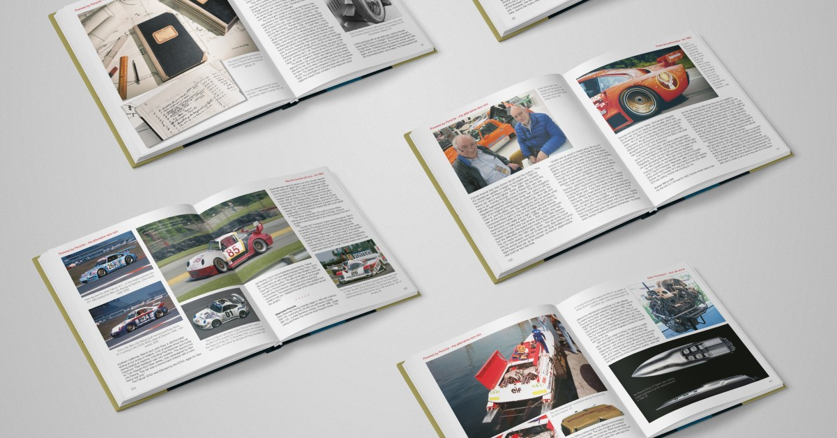 These Are The Porsche Books We're Reading This Fall