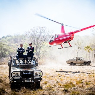 Saving The Elephants, One Vintage Land Rover Safari At A Time