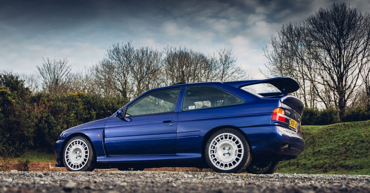 This Is What It\'s Like To Drive The Ford Escort RS Cosworth ...