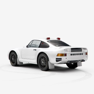 New Paris-Dakar Porsche 959 Posters From INK Have Been Added To The Shop