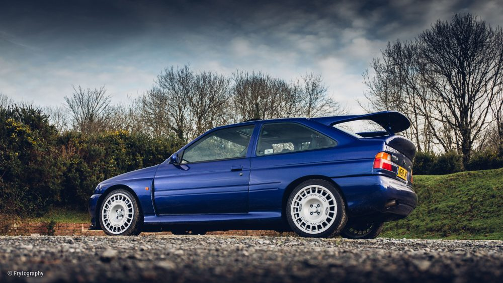 This Is What It's Like To Drive The Ford Escort RS Cosworth