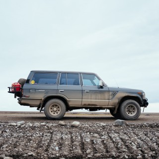 I Drove My FJ62 Land Cruiser To The Waves Of The Arctic Coast