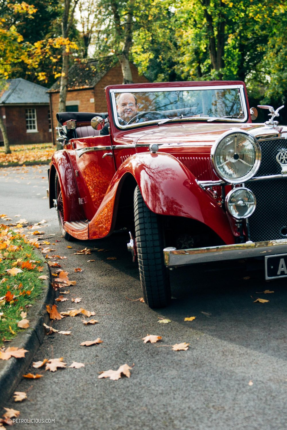 Stolen By Nazis, Abandoned, And Buried Under Snow, This Alvis Speed 20 Endures