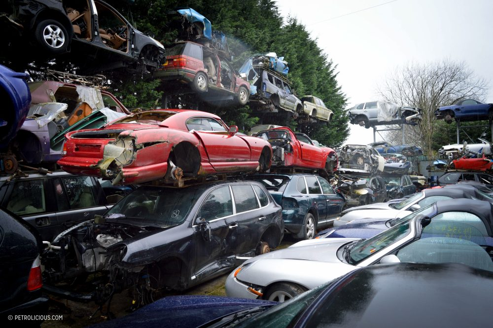 This Sports Car Scrapyard Is Home To Ferrari Testarossas, Not Nissan ...
