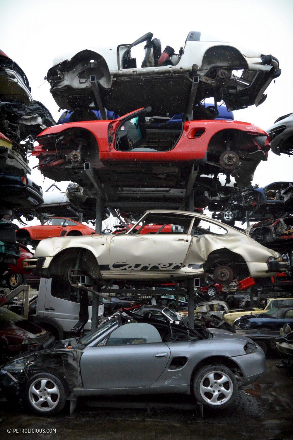 This Sports Car Scrapyard Is Home To Ferrari Testarossas, Not ...