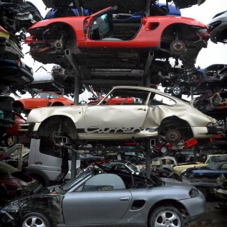 This Sports Car Scrapyard Is Home To Ferrari Testarossas, Not Nissan Altimas