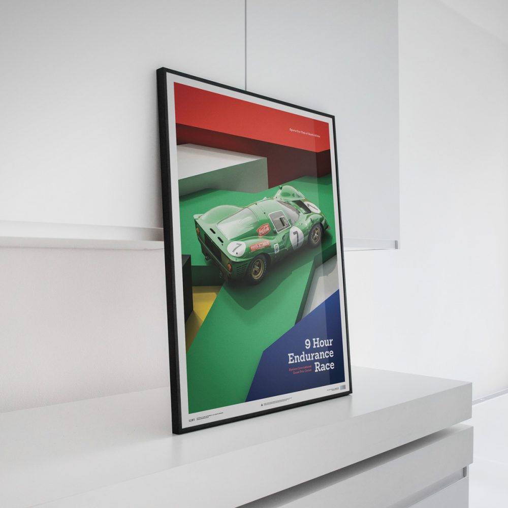 9b11353a Using modern digital techniques, the small team of artists render  highly-detailed recreations of famous motorsport machines all the way down  to the ...