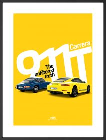 Petrolicious Official Premium Print – Porsche 911 T Collection