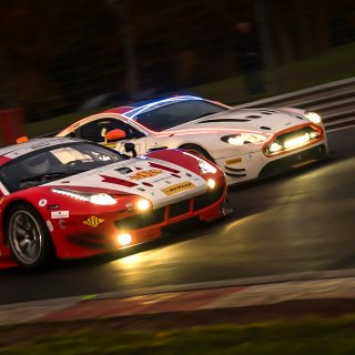 GALLERY: A Spectacle Of Light And Darkness At Brands Hatch