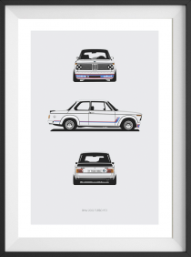 2002 Turbo Trilogy Print