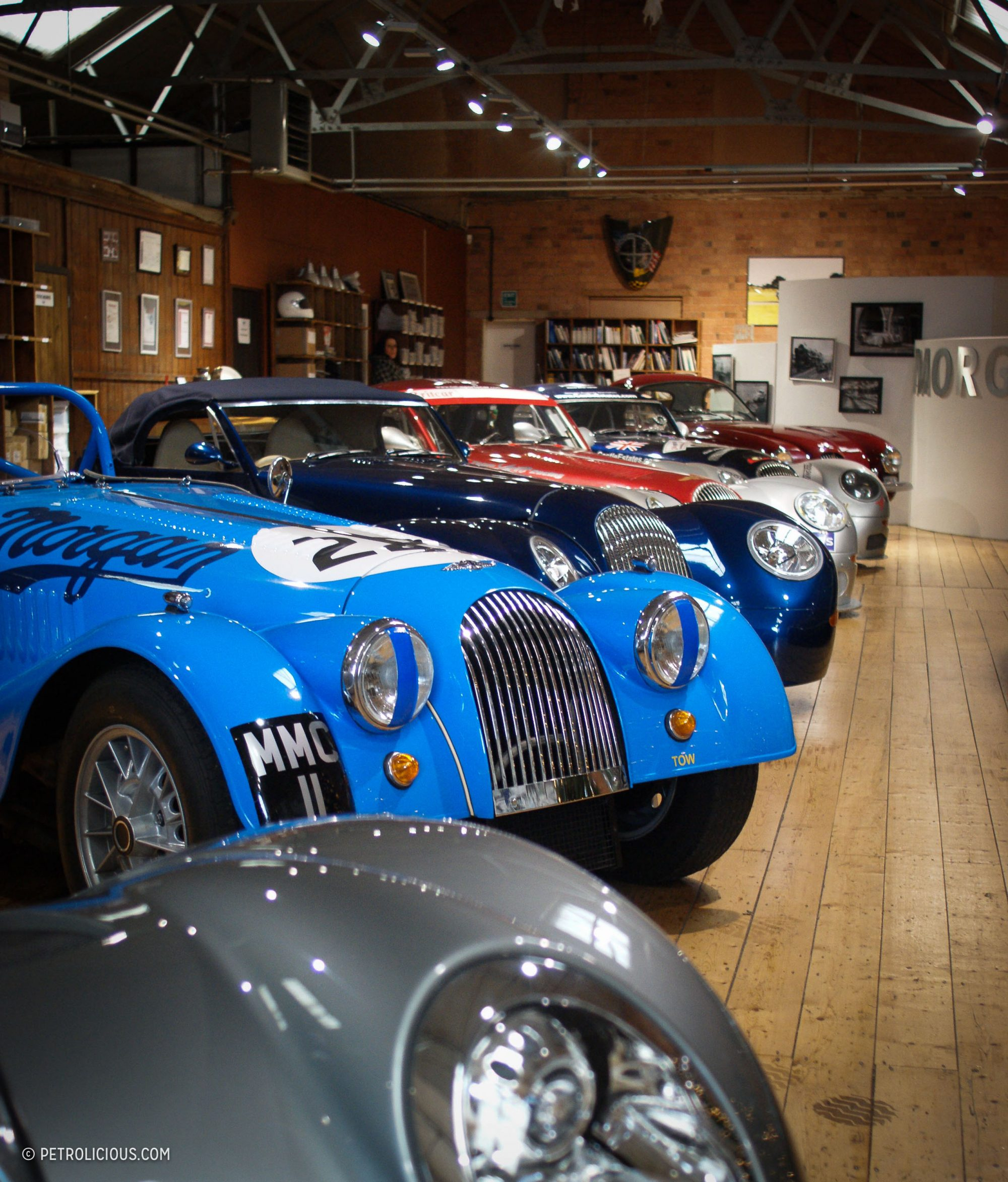 Morgan Factory Stock Photos Morgan Factory Stock Images: The Morgan Motor Company Is A Factory Trapped In Time