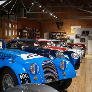 The Morgan Motor Company Is A Factory Trapped In Time