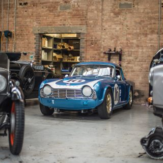 This British Sports Car Workshop Is Located On An Ex-RAF Bomber Base