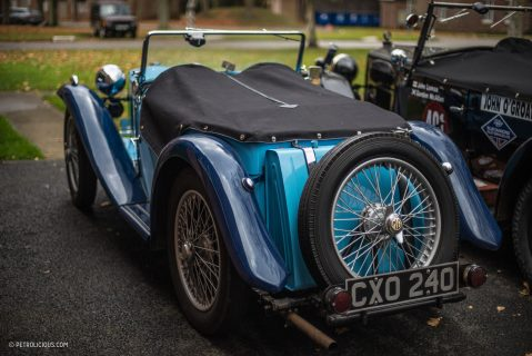 This Sports Car Workshop Is Located On An Ex-RAF Bomber Base
