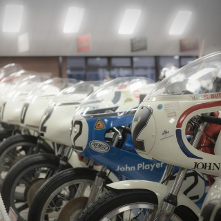 Here's What We Found In The World's Largest Collection Of British Motorcycles