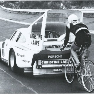 Ever Ride A Bicycle In The Slipstream Of A Porsche 935?
