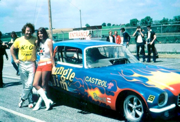 funny car drivers from the 70s