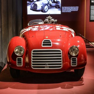 This Ferrari Exhibit In London Goes Deeper Than The Hand-Formed Aluminum