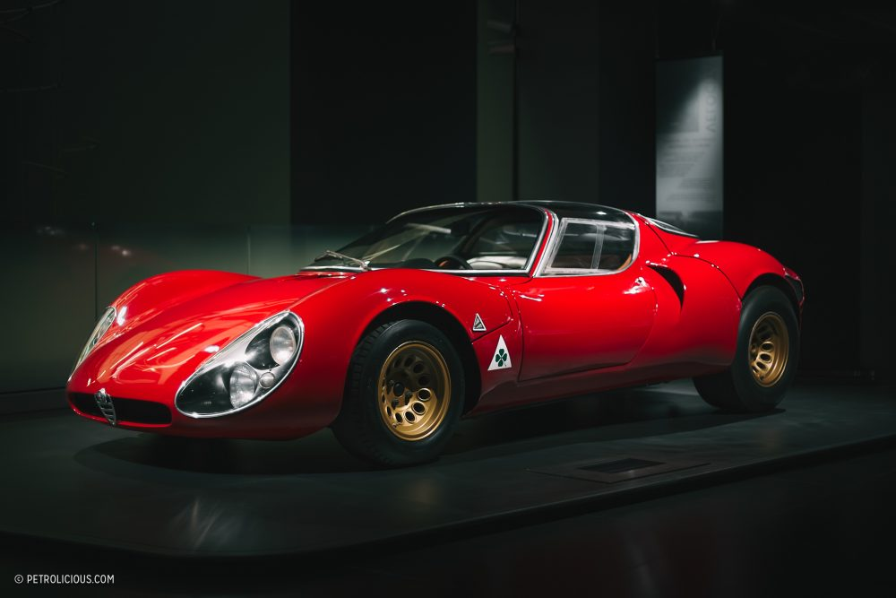 How The Curvaceous Alfa Romeo Tipo 33 Gave Rise To The Wedges Of The