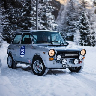This Rally-Tuned Autobianchi A112 Abarth Is A Pocket Rocket For Monte Carlo