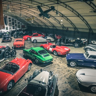 The UK's Classic Motor Hub Is So Much More Than A Showroom