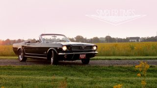 1966 Ford Mustang Convertible: The Original Pony Car