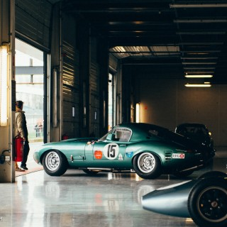 What It's Like To See Silverstone From Inside A Jaguar E-Type Lightweight