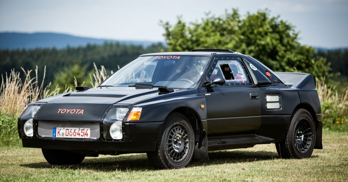The MR2-Based Toyota 222D Was The Group S Weapon That Never Was ...