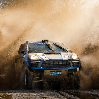 This Porsche Macan-Bodied Rally Raider Was Built For The Dakar