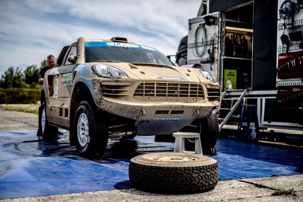 This Porsche Macan Bodied Rally Raider Was Built For The Dakar 400