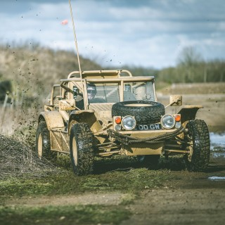 This Is What It's Like To Hoon An Ex-SAS Military Dune Buggy