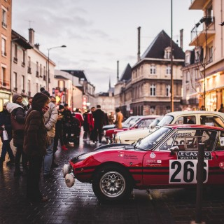 The City Streets Of Reims Are The Perfect Place To Start The Rallye Monte-Carlo Historique