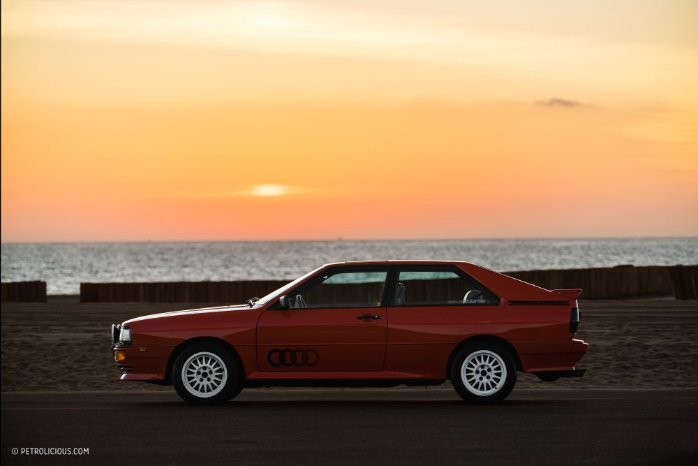 This Audi UrQuattro Is Preserving Rally History In Sunny - Harper audi