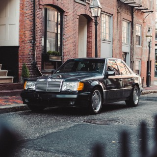 1992 Mercedes-Benz 500E: A Stuttgart Superhero Prowling The Streets Of Boston
