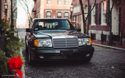 1992 Mercedes-Benz 500E: A Stuttgart Superhero Prowling The Streets