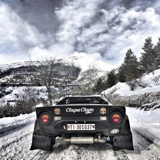Classic Lancia Rally Legends Are The Best Teammates For The Rallye Monte-Carlo Historique