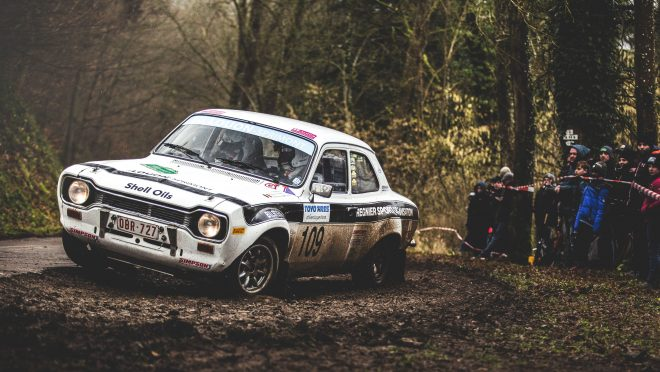I Followed A Vintage Rally Through The Muddy Woods Of Southern Belgium